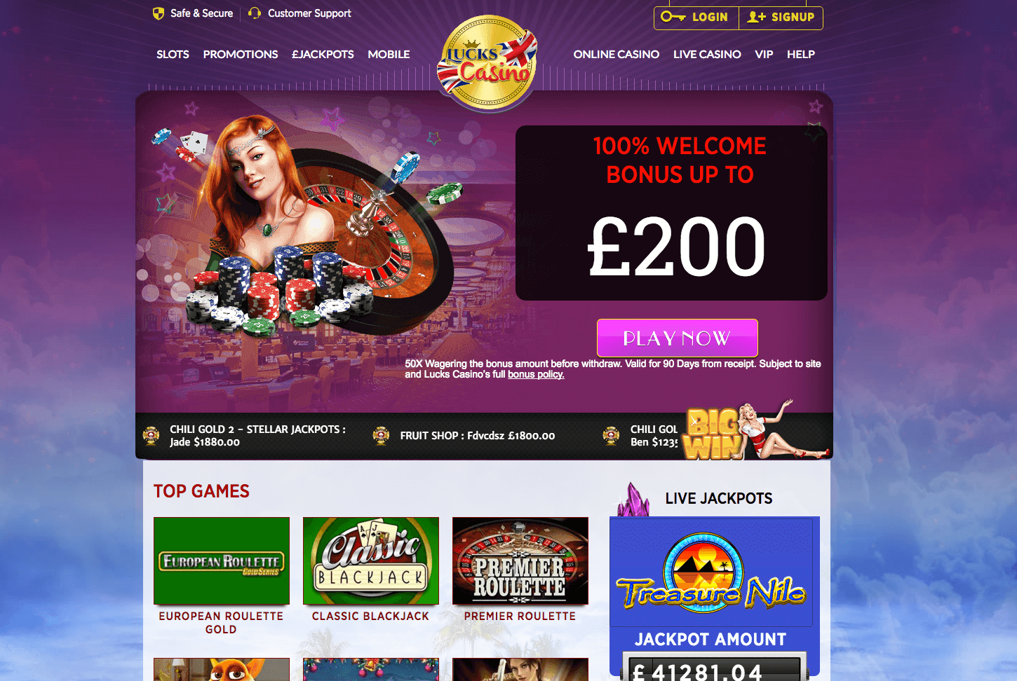 pay by phone bill casino lucks casino