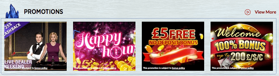 promotions lucks casino