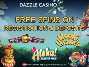 free spins July Dazzle Casino