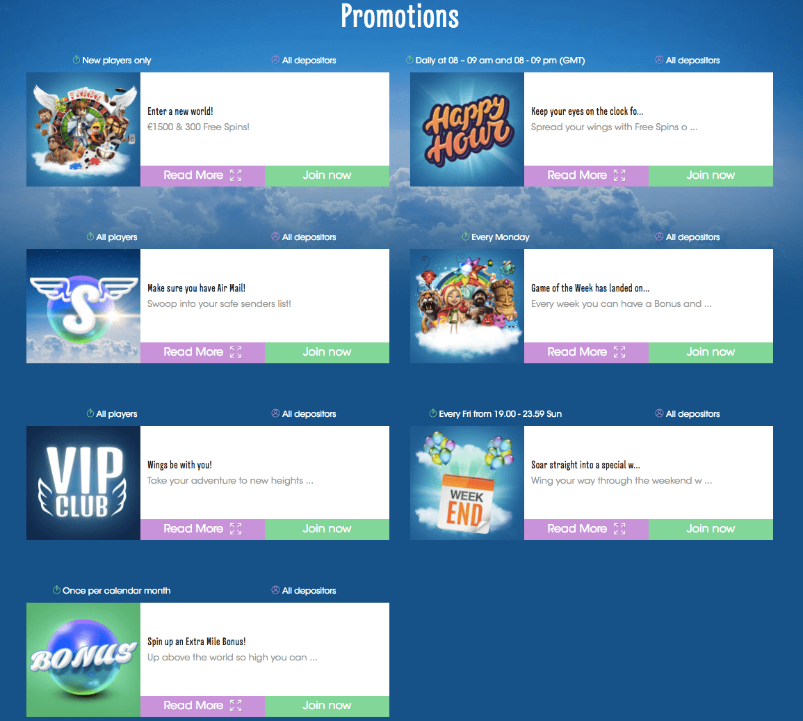 promotions sloty casino