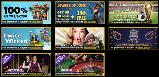 sparkle slots casino promotions