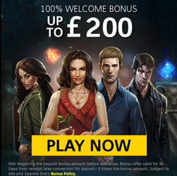 welcome offer sparkle slots casino